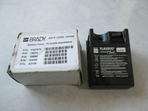 New Brady M-BATT-18554 handimark Battery Pack TLS2200