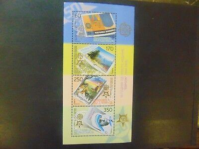 Matzedonien Block 13 ** 2 MAL - 50 Jahre Europa CEPT SIEHE  BILD ( 80,00 ) -1