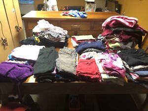 Girls Clothes sizes 7-8 to 10-12. Like new.