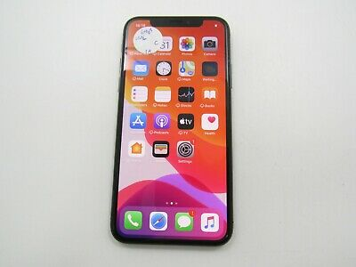 Apple iPhone X 64GB A1901 Unlocked Check IMEI Fair Condition 1414