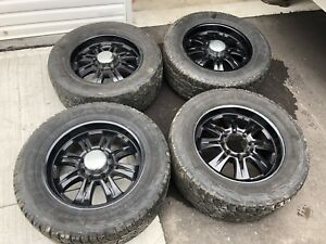 Dodge Ram 8x6.5 wheels and tires