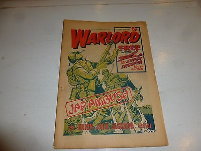 WARLORD Comic - Issue 3 - Date 12/10/1974 - UK Paper Comic