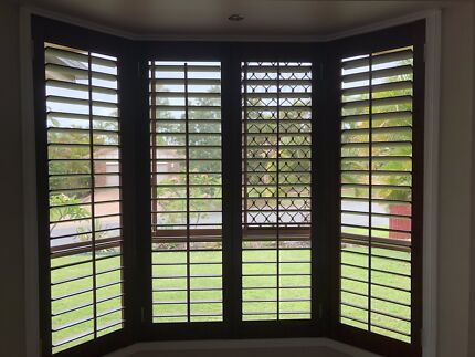 Timber Plantation Window Shutters