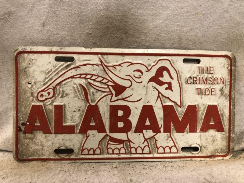Alabama The Crimson Ride License Plate