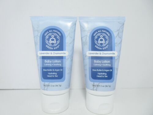 Green Goo Lavender & Chamomile Baby Lotion, 2 oz (2-Pack) *FREE SHIPPING!