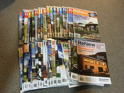 ReNew Magazine 40 issues