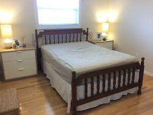 Double Bed (headboard, footboard and rails)