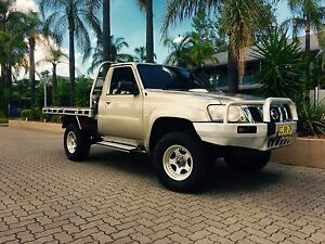 2004 gu nissan patrol coil cab factory 4.2 turbo diesel intercooled st Tamworth Tamworth City Preview