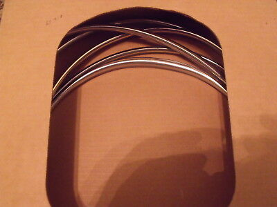1973 - 1987 Chevy Truck Windshield Chrome Molding GM NOS ()