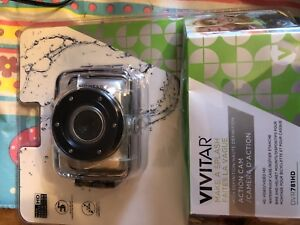 Action camera waterproof with mounts kind of like go pro