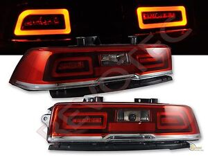 2014 2015 chevy camaro red led tail lights lamps rh lh 1 pair play. Cars Review. Best American Auto & Cars Review