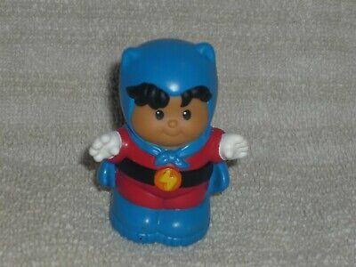Fisher Price Little People Halloween Hispanic Super Hero Roberto Boy Trick Treat
