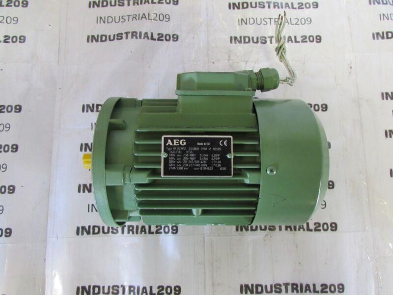 AEG MOTOR TYPE AM71ZAA2 0.44 KW  480 V NEW