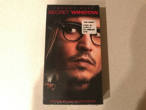 Secret Window (VHS, 2004) Johnny Depp, John Turturro, Maria Bello