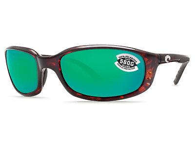 Costa Del Mar Brine Tortoise / Green Mirror 580 Glass 580G - NEW