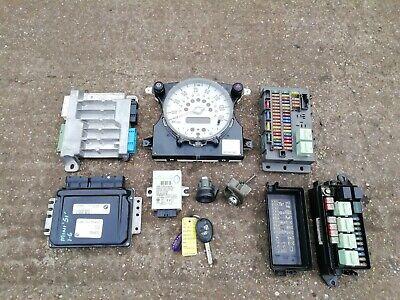 BMW Mini R50 1.6 W10B16A Petrol Complete Lock Set Ignition Barrel ECU BCM & Key