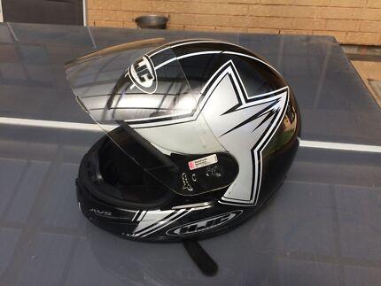 HJC CL-12 MOTORCYCLE FULL FACE HELMET - SIZE XXL.