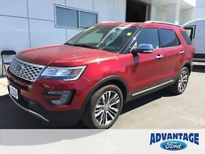 2017 Ford Explorer Platinum Nav. Moonroof. EcoBoost.