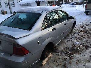 Ford focus zrx 2005