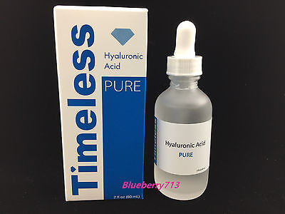 New In Box  Timeless Pure Natural Hyaluronic Acid 2 Oz  60Ml  Free Shipping