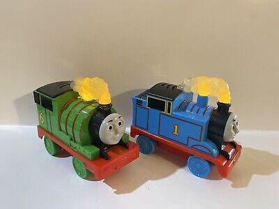 2012 Gullane Limited Percy And Thomas The Train Talking Lights Steam Engine Set