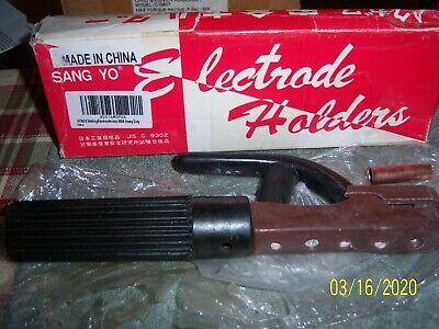 New Sang Yo 300a Welding Electrode Holder Stick Rod Copper Heavy Duty
