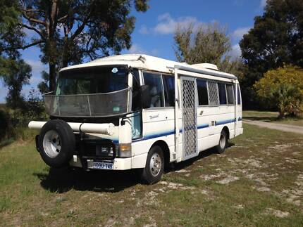 Motorhome, Nissan Civillian 1988 Mariginiup Wanneroo Area Preview