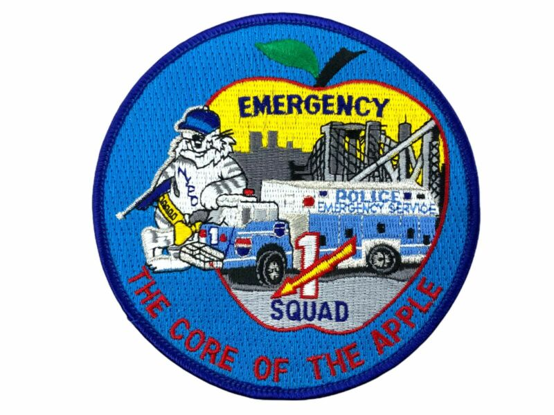 US New York Emergency Squad No.1 Police Patch