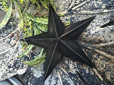 Barn Star Decor (ONE BLACK BARN STAR 8