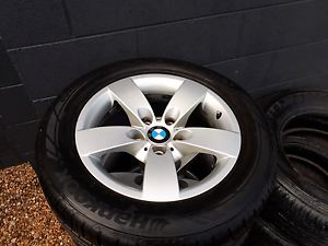 Bmw wheels and tyres 90% tread. Like new. Margate Redcliffe Area Preview