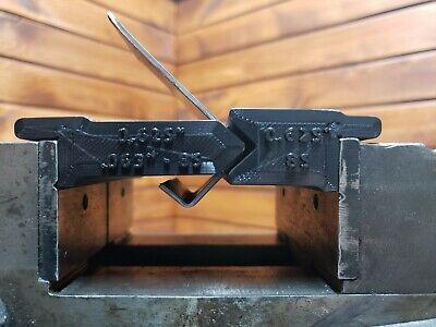 14ga 58 85 Deg - 3d Printed Vise Press Brake Dies Metalworking Bending Tools