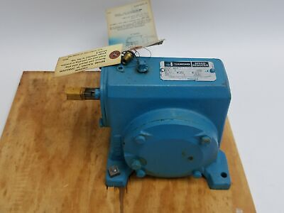 Diamond 479984-gv Worm Gear Speed Reducer .6 Hp 1750 Rpm 401 Wr16a C Face