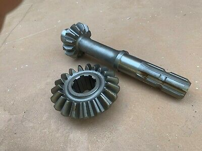 King Kutter Rotary Tiller Top Gearbox Gear Pinion 902326902325 19t 13t