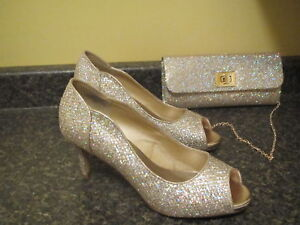 Evening shoes and clutch