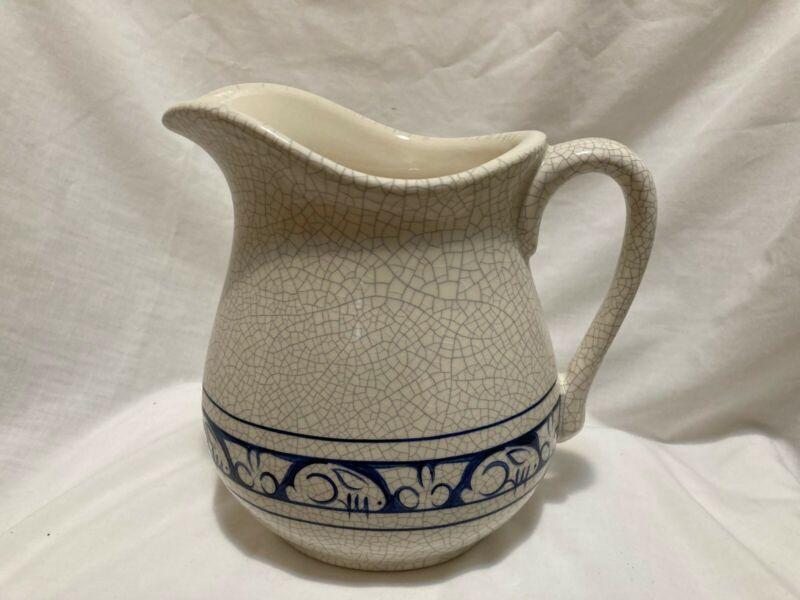 Vintage Dedham Pottery By The Potting Shed Dedham Rabbit Pitcher 1997