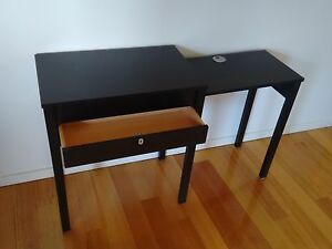 IKEA Extendable Side Table c/w lockable drawer Fremantle Fremantle Area Preview