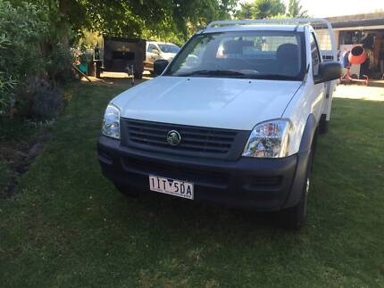 2005 Holden Rodeo RA Manual