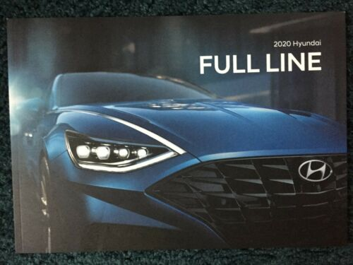 2020 HYUNDAI PALISADE SANTA FE TUSCON FULL LINE FACTOY DEALER SHOWROOM BROCHURE