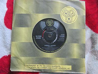 Elton John – Pinball Wizard  DJM Records DJS.652  UK 7Inch 45 Vinyl Single