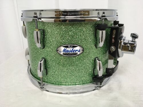 "Pearl Masters Complete MCT 12""  Mounted Tom/#348/Absinthe Sparkle/Display Model"