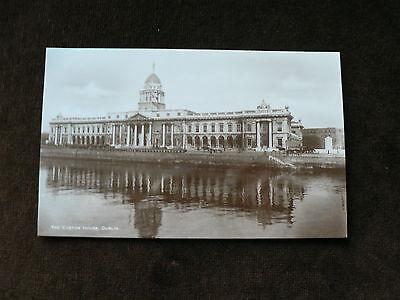 Vintage Photo Postcard: The Custom House, Dublin, Ireland