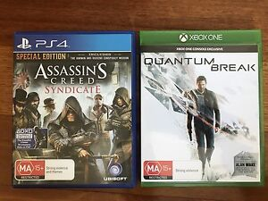 Quantum Break & Assassin's Creed Syndicate Brighton Brisbane North East Preview