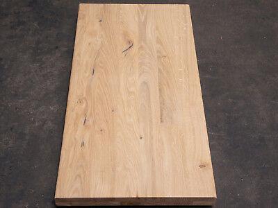 Treppenstufe Wildeiche Arbeitsplatte Renovierungsstufe Regalböden 40mm roh (Arbeitsplatte Regal)