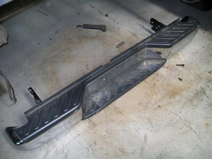 nissan navara dual cab rear bumper bar , suit d22 - d40