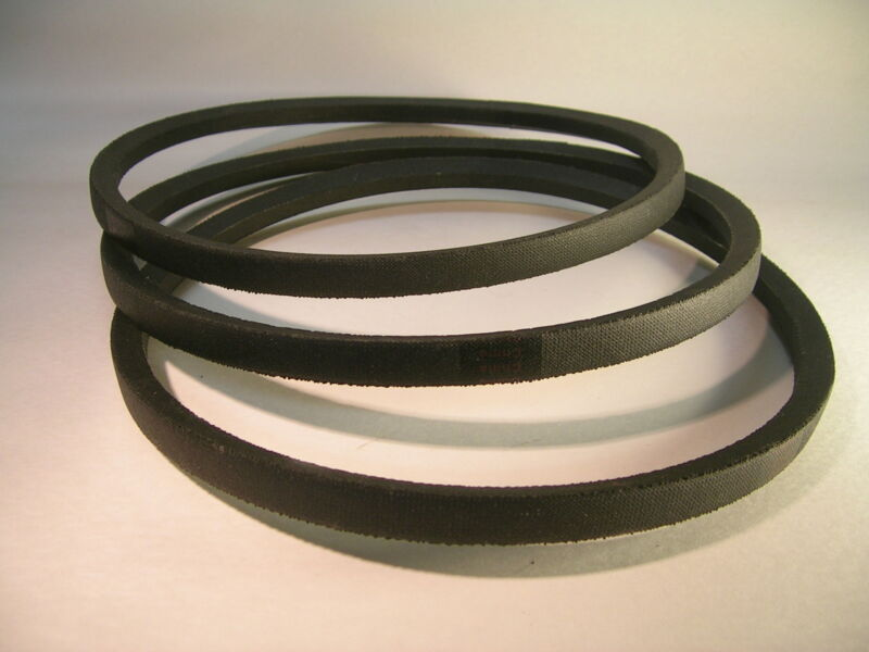 Replacemen SET of 3 V Belts for DELTA 49-124 Unisaw 3450 RPM Motor FREE SHIPPING