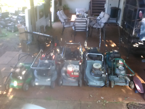 Mower package. Push mowers, Ride on's & Concrete polisher package Grantham Lockyer Valley Preview
