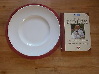 """Speiseteller """"Biolek""""  mit Kochbuch - gebraucht - TOP-Zustand"""