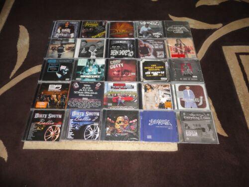 25 NEW & Sealed CD Lot - Rap Hip Hop R&B Underground Gangsta Rap - Rare