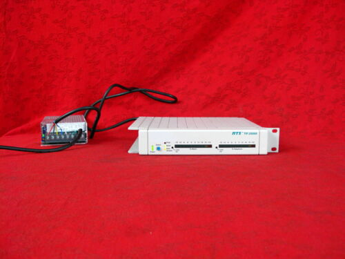 RTS TIF-2000A IN EXCELLENT CONDITION WITH POWER SUPPLY UNIT