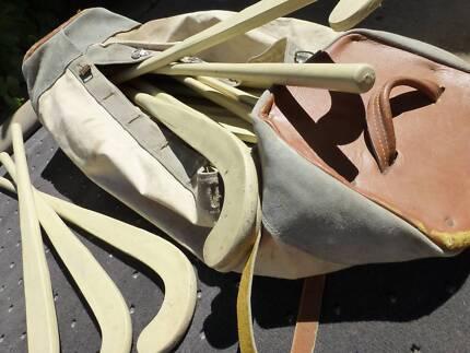 Lot of Hockey Sticks, Heavy Duty, School Yard Grade + Vintage Bag Wagga Wagga 2650 Wagga Wagga City Preview